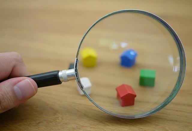 Szukanie domu z lupą